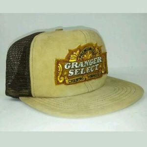 Granger Select Tobacco Snapback Trucker Brown Hat